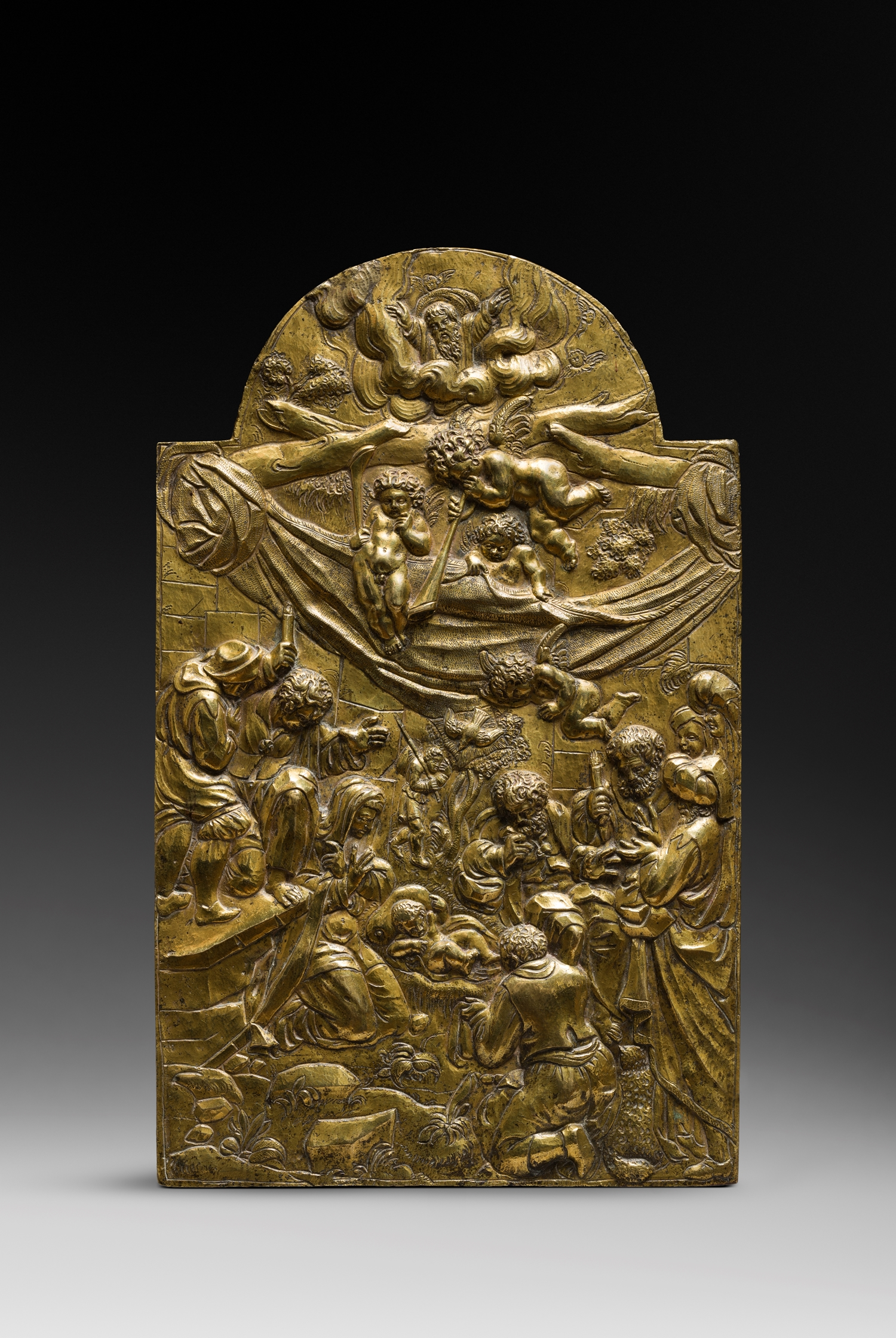 ARENT VAN BOLTEN ( 1573 - 1625 ) ADORATION OF THE SHEPHERDS