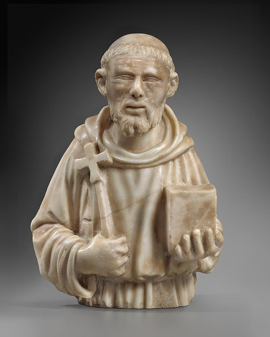 CIRCLE OF JACOBELLO DALLE MASEGNE ( active ca.1383-1409 ) - SAINT FRANCIS OF ASSISI
