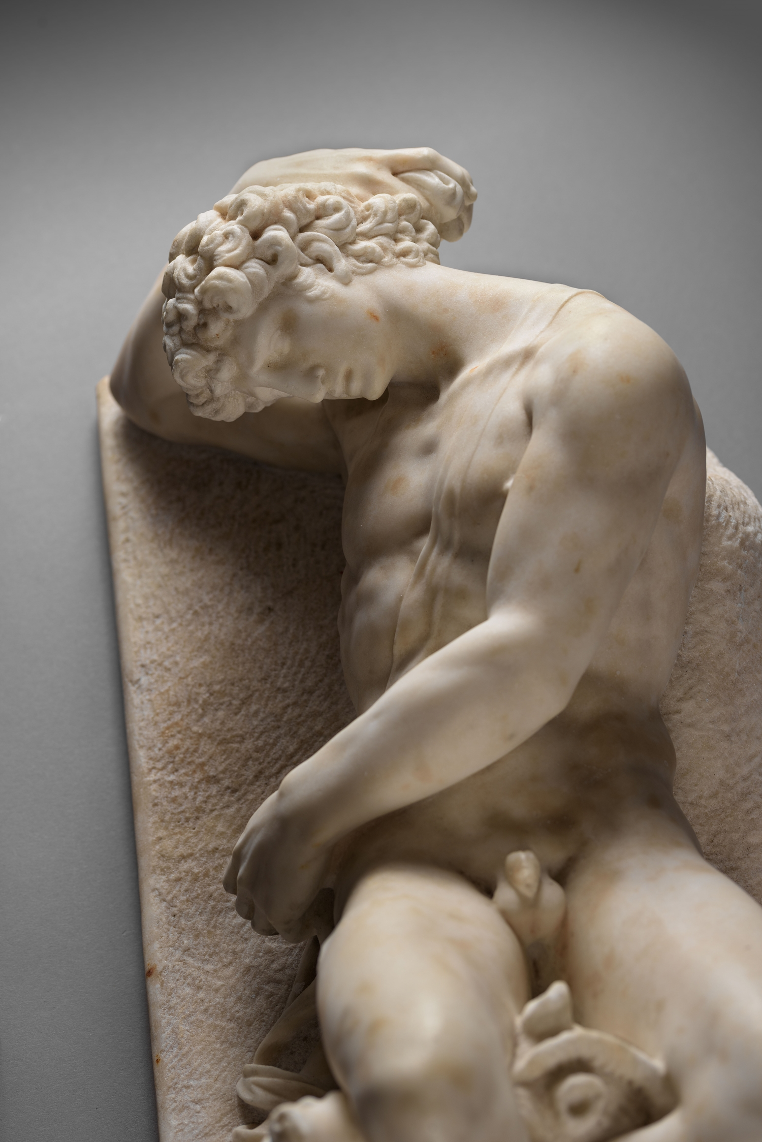 ACQUIRED BY FONDATION GANDUR POUR L'ART, GENEVE - CIRCLE OF VINCENZO DE' ROSSI  (1525-1587)  - DYING ADONIS