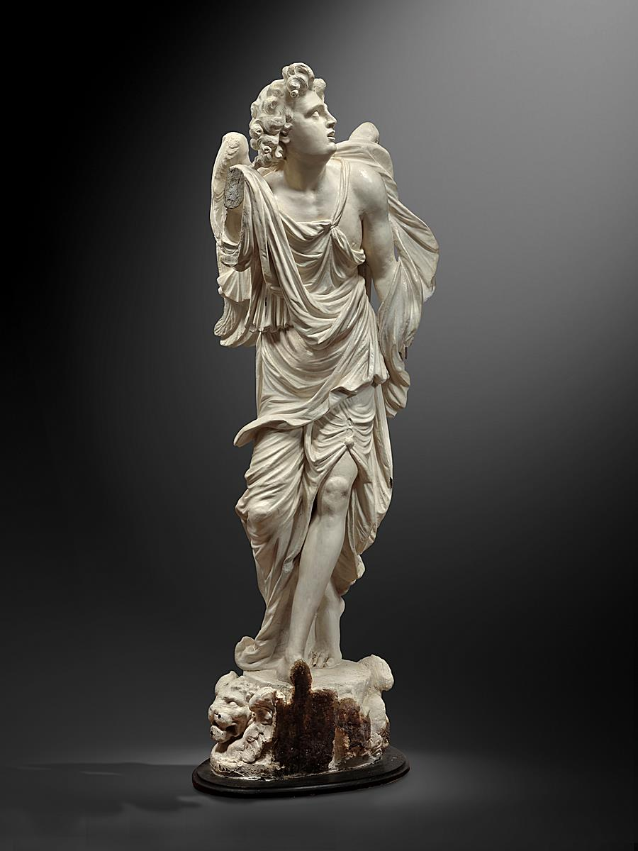 CIRCLE OF GUILLAUME KERRICX THE ELDER (1652-1719) - ANGEL FROM A CONFESSIONAL