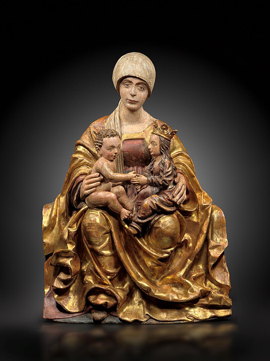 CIRCLE OF HANS LEINBERGER (1475/80-1531)  - SAINTE ANNE TRINITARIAN