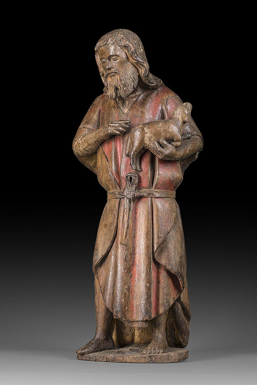 SAINT JOHN THE BAPTIST BURGUNDY SECOND HALF OF THE 15TH CENTURY