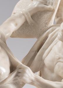 FRANCESCO BERTOS ( 1678 - 1741 )  TWO ROMAN WARRIORS FIGHTINGEARLY 18TH CENTURY