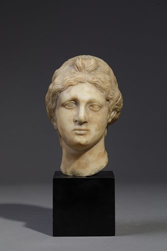 HEAD OF A WOMAN AFTER THE ANTIQUE ITALY 16TH CENTURY