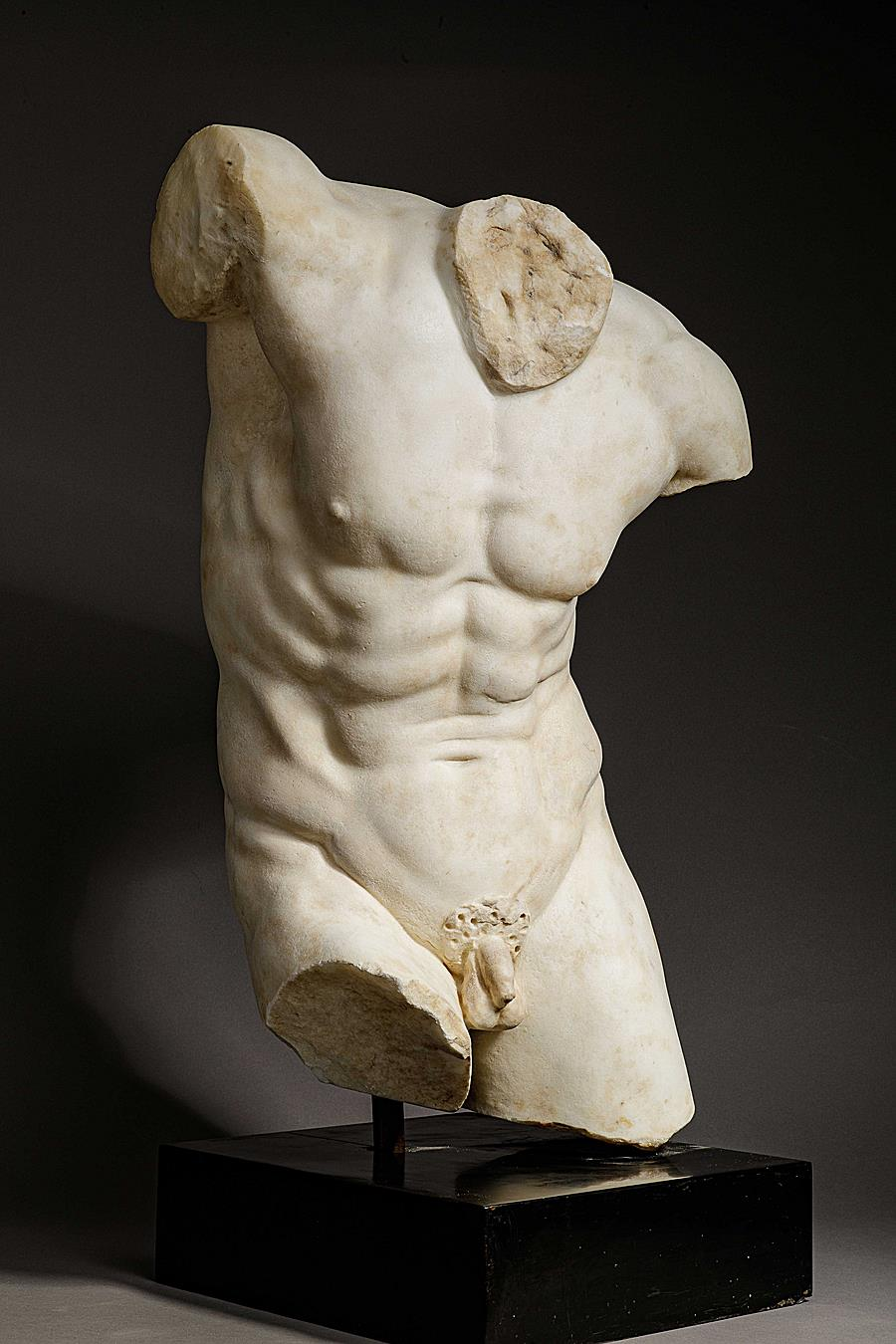 "TORSO OF THE "" DANCING FAUN """