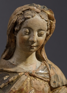 VIRGIN OF NATIVITY ITALY EARLY 16TH CENTURY
