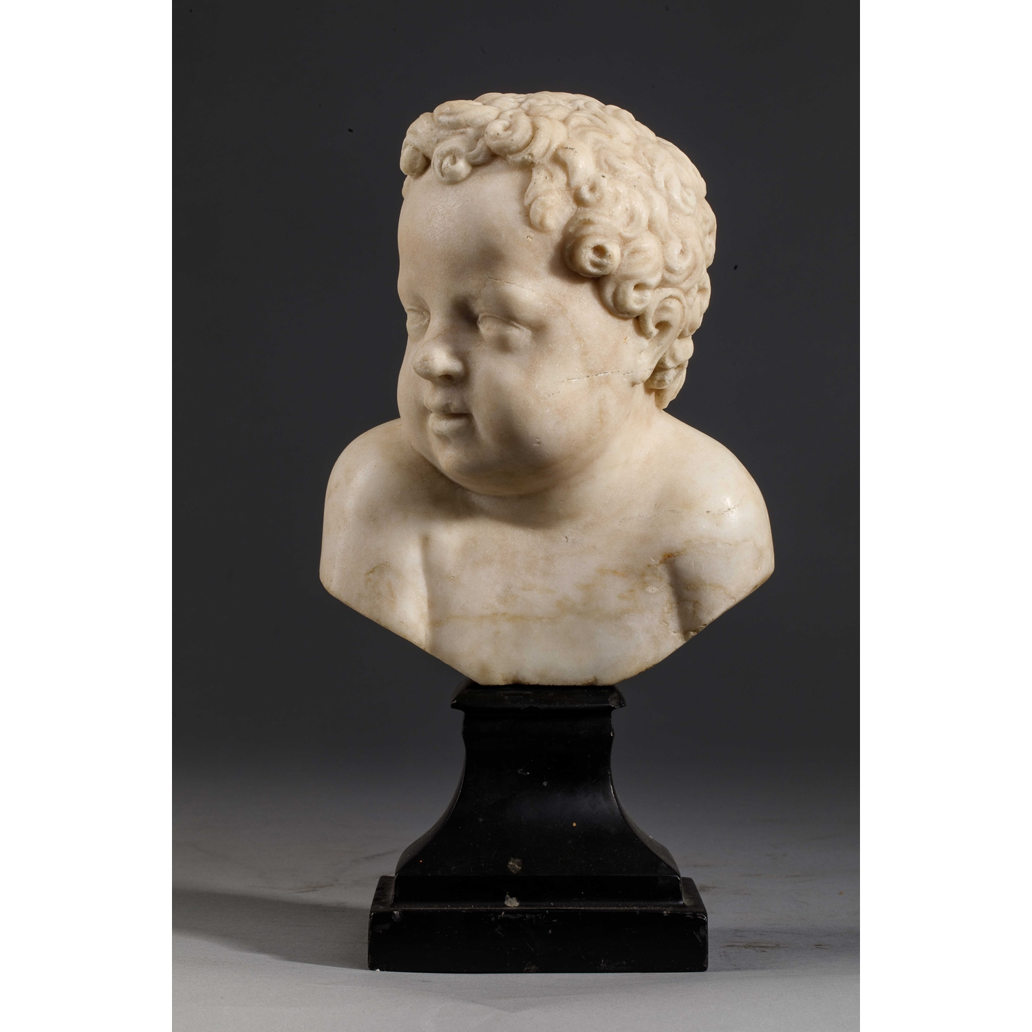 FRENCH RENAISSANCE BUST OF A CHILD
