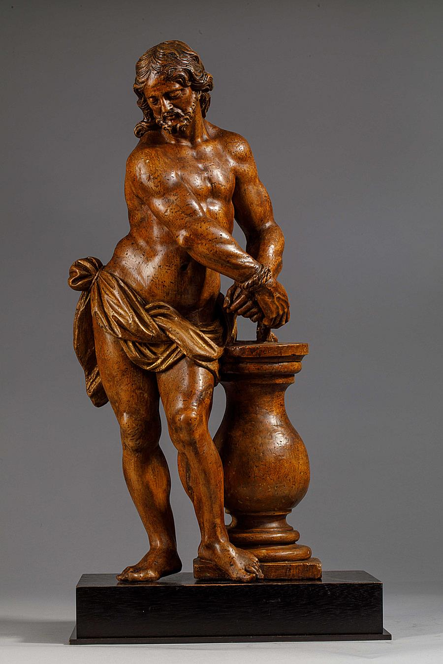 CHRIST AT THE COLUMN NAPLES SECOND HALF OF THE 17TH CENTURY