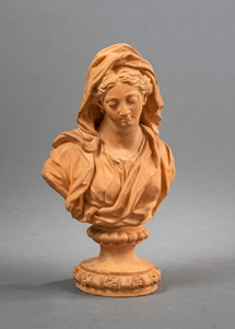 JEAN-ARNOLD DE HONTOIRE -  BUSTS OF CHILD JESUS AND THE VIRGIN