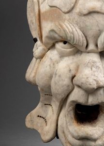 CIRCLE OF BERNARDO BUONTALENTI  (1531-1608) - GROTESQUE MASK