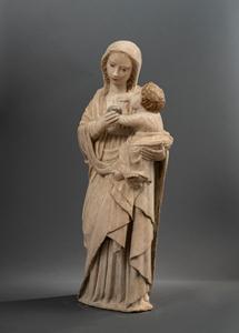 DOMENICO GAGINI ( 1449-1492 )  VIRGIN AND CHILD SICILY CIRCA 1480-1490