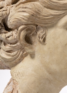 A HEAD FROM THE ENTOURAGE OF DOMENICO GUIDI ? ROME SECOND HALF OF THE 17th CENTURY