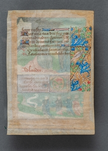 ENLUMINATED MANUSCRIPT FRANCE CIRCA 1500