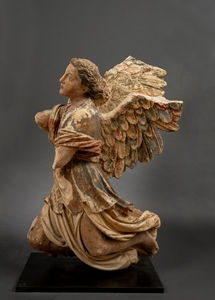 IMPORTANT PAIR OF FRENCH RENAISSANCE ANGELS