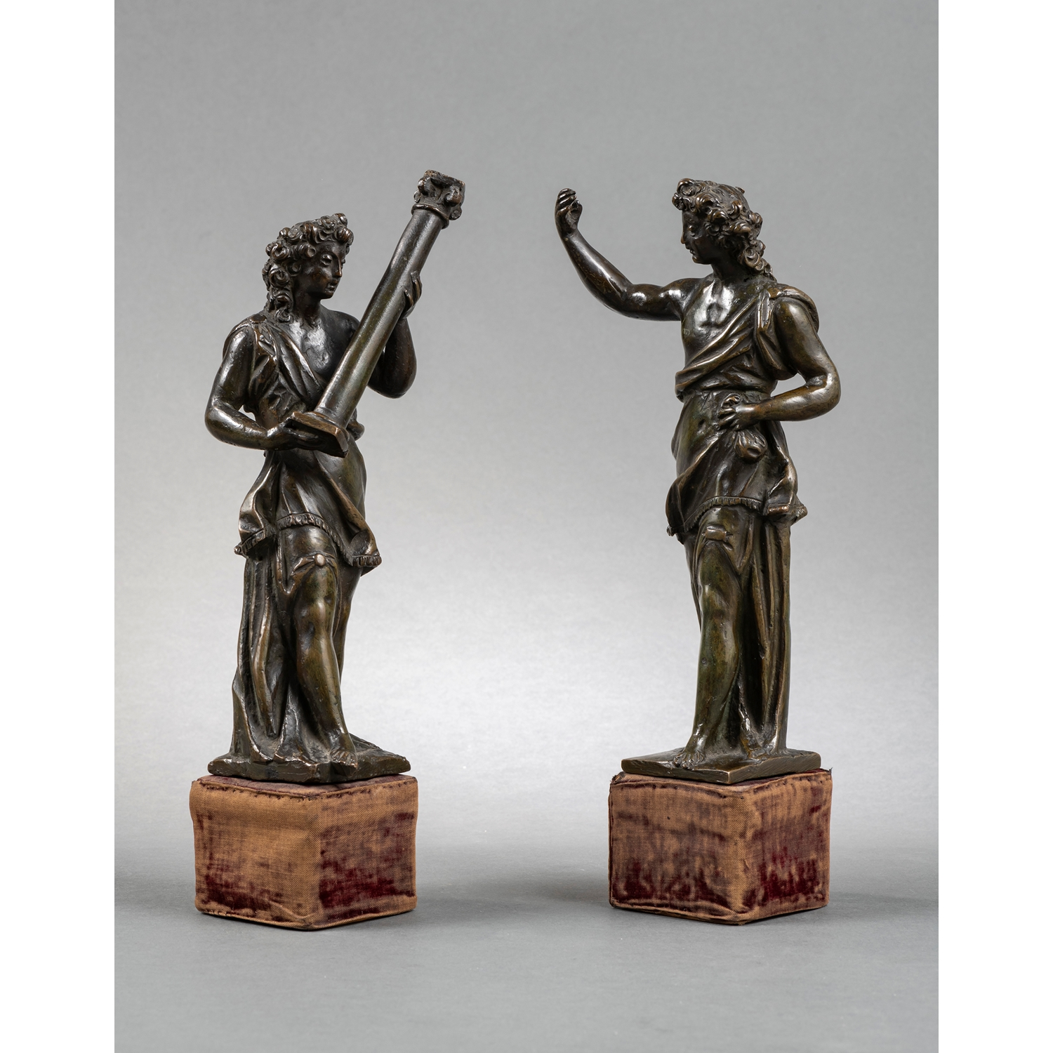 ANGELS WITH THE INSTRUMENTS OF THE PASSION VENICE END OF THE 16TH CENTURY