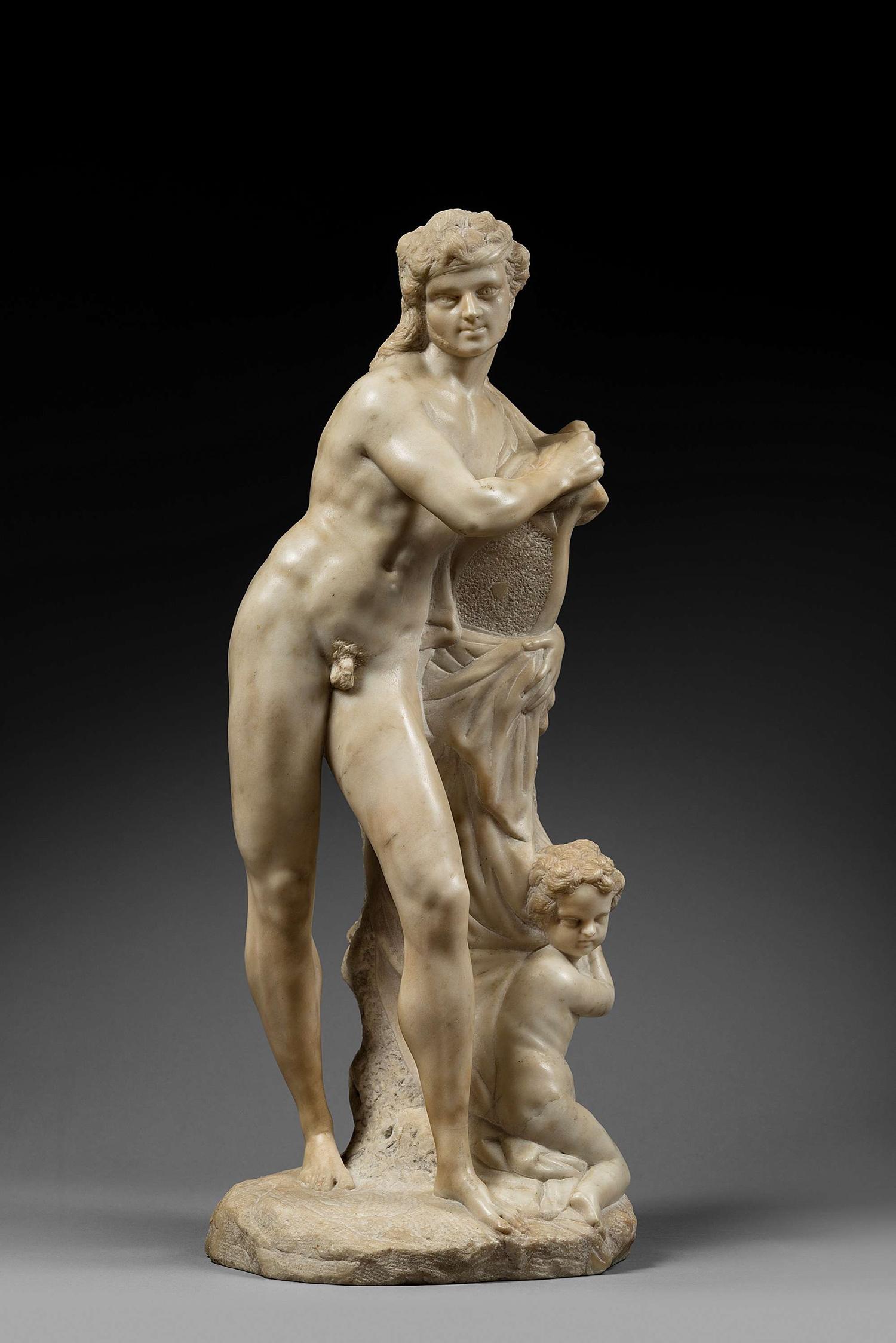 FRANCESCO BERTOS ( 1678 - 1741 )  APOLLO VENICE CIRCA 1700