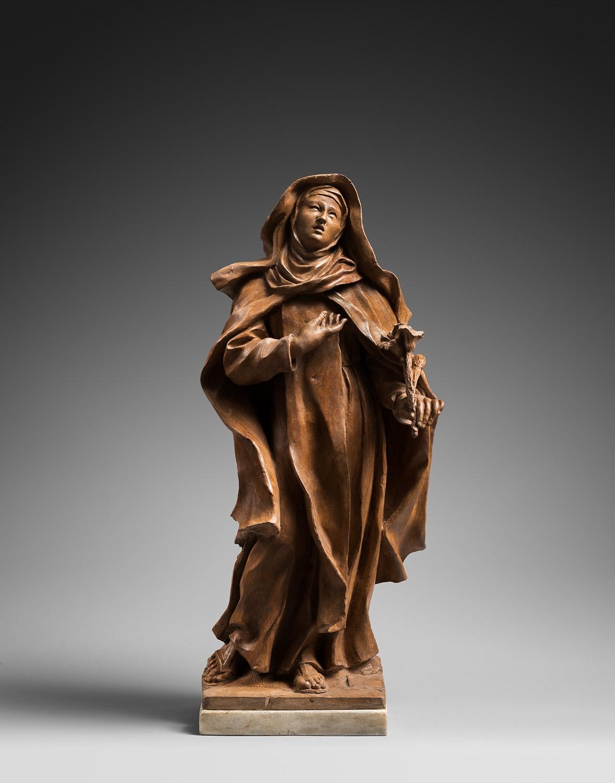 MODELLO FOR SAINT PETER'S BASILICA, ROME   MARY MAGDALENE DE'PAZZI ROME 1702 -1703